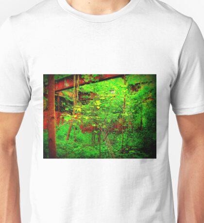 Red Versus Green,Versus Man,Versus Nature  Unisex T-Shirt