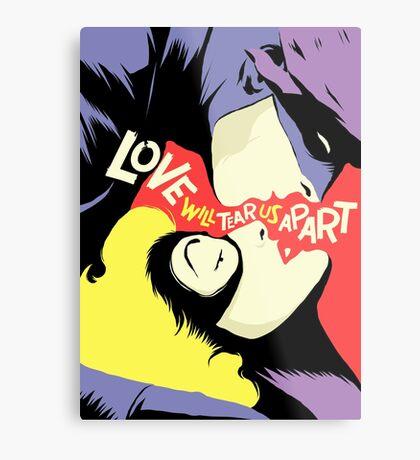 Love Vigilantes: Reversed Metal Print