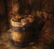 An old pail by Mike  Savad