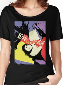 Love Vigilantes: Reversed Women's Relaxed Fit T-Shirt