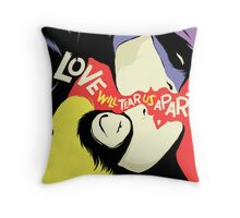 Love Vigilantes: Reversed Throw Pillow
