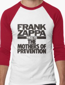 Frank Zappa Meets The Mothers Preventions Men's Baseball ¾ T-Shirt