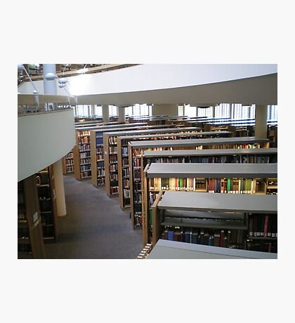 Mt. Angel Abbey Library, Oregon Photographic Print