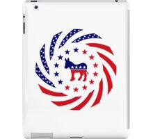 Democratic Murican Patriot Flag Series iPad Case/Skin