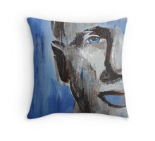 Blue man 5-09 Throw Pillow
