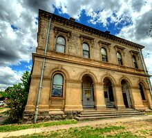 Going Postal - Clunes Post Office , Victoria - The HDR Experience by Philip Johnson