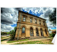 Going Postal - Clunes Post Office , Victoria - The HDR Experience Poster
