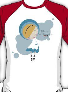 follow me in wonderland... T-Shirt