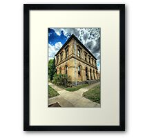 Going Postal # 2 - Clunes Post Office , Victoria - The HDR Experience Framed Print