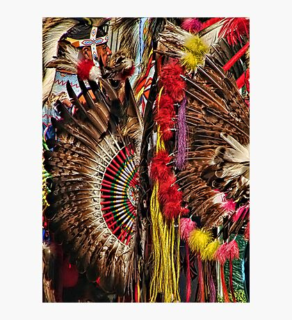 Feather Frenzy Photographic Print