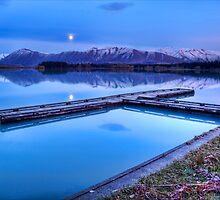 Lake Ruataniwha Pre-dawn by Antony Burton