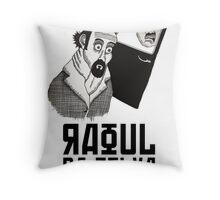 Raoul Da Silva Throw Pillow