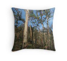 Hairy Trees Throw Pillow
