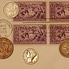 Coins and Stamps by Robert Armendariz