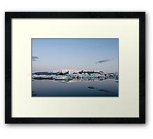 Glacier Lagoon #6 Framed Print