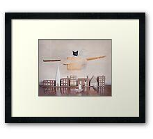 Ameowlia Framed Print