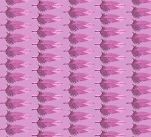 Pretty Pink Feathers by geekchicprints