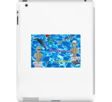 Roman Bust - Seapunk Aesthetic iPad Case/Skin
