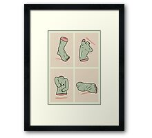 Zombie Limbs Framed Print