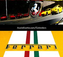 2012 Ferrari Calendar by Aussie Exotics