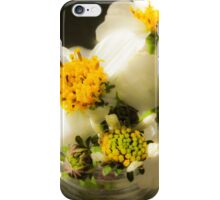Sunlit Flowers - Nature Photography iPhone Case/Skin