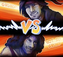 Game Grumps VS by MuffinPines