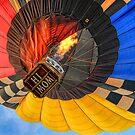 Hi Mom!  Hot Air Balloon by Dyle Warren