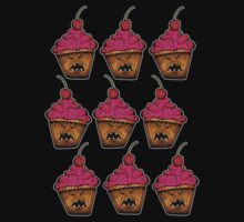 Angry Cupcakes by Octavio Velazquez