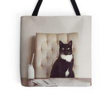 Corporate Cat Tote Bag