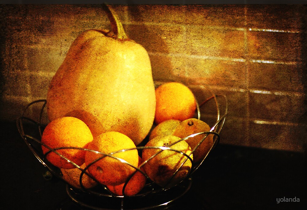 Fruit Bowl by yolanda