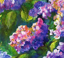 Hydrangeas by Maureen Whittaker
