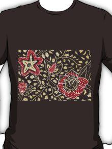 Flower Motif T-Shirt