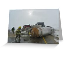 Large Spill Greeting Card