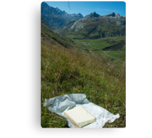 Alpine Picnic Canvas Print