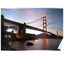 Golden Gate Bridge from Fort Point Poster