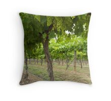 Under the Vines Throw Pillow