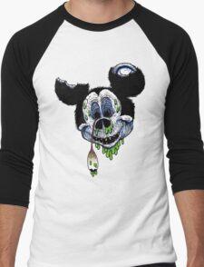 Zombie Mickey Men's Baseball ¾ T-Shirt