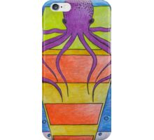 Squid On Top iPhone Case/Skin