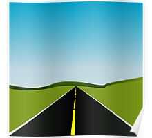 long highway Poster