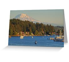 An Afternoon on the Bay Greeting Card