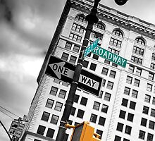 New York Street Sign by Xpresso
