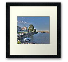 Tidal River HDR Framed Print