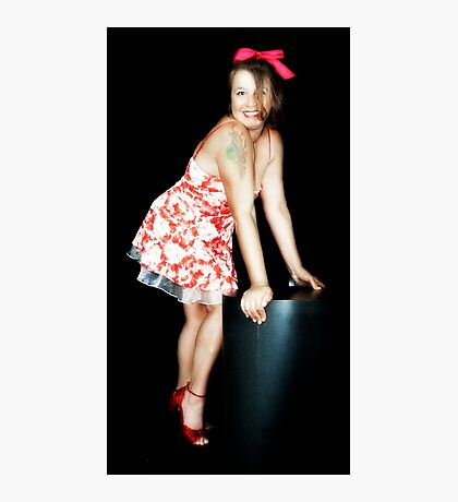 Rockabilly Red Photographic Print