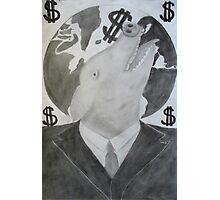 Capitalist Pig Photographic Print