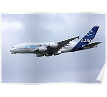 Airbus A380 Cleanup Poster