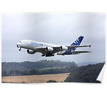 Airbus A380 Departure 1 Poster