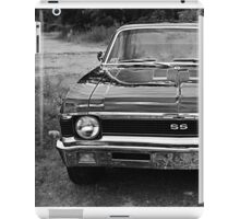 Chevy SS Monochrome iPad Case/Skin