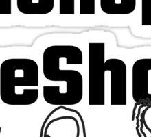 iShop uShop weShop Sticker