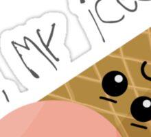 Oh no, my ice cream! Sticker