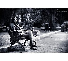 Sherry Sherry Lady Photographic Print